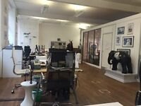 6 Desks available in 2000 sqft Warehouse office space in Clerkenwell
