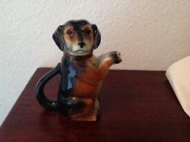 Rare German Vintage dachshund tea/coffee pot