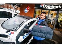 Domino's PIzza Gainsborough Full Time and Part Time Staff £7.20 per hour + £mileage + £tips