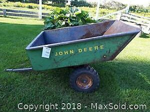 Old John Deere Trailer