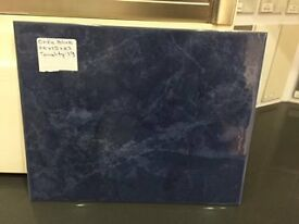 Orfe Blue Wall Tiles 20 x 25 x 0.7 -£3.99