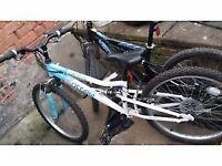 Girls mountine bike