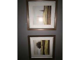 2 X FRAMED PRINTS - AFTER THE GOLDRUSH