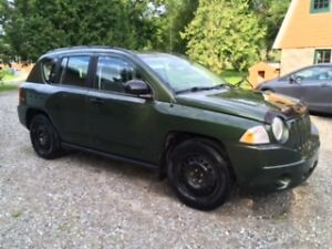2007 Jeep Compass Green SUV, Crossover