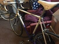 Vintage Racer Road Bike for Sale, ideal for someone around 6ft