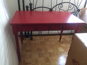 Brand New 'Writing Desk', Pretty & Versatile, Red, Wayfair