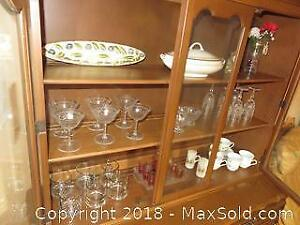 Contents of China Cabinet - A