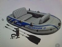 Excursion 3 Inflatable boat INTEX