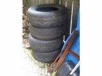 "Winter tyres - 4 x 15"" Nexen Radial N2000 in excellent condition. £120"