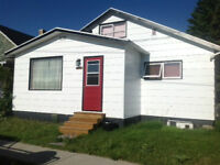 2 BDRM + LOFT HOUSE  AND GARAGE FOR RENT IN CROWSNEST PASS, AB