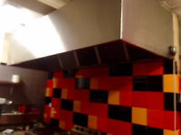 Kitchen Extraction Canopy.