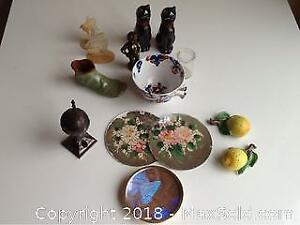 Lot Of Salt And Pepper Shakers And More