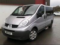 2011 Renault Traffic 9 Seat Crew-cab