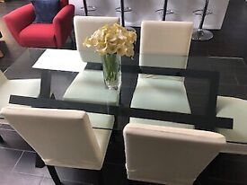 Used Habitat dinning table and chairs