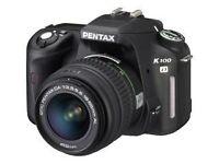 For sale: Pentax K100d digital SLR camera with case
