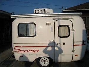 13 foot fibreglass camper...Scamp Boler etc with a/c Good Price