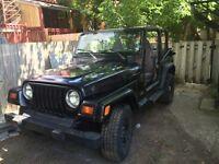 Jeep tj 1998 2.5 4x4
