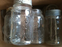 Upcoming Special Event? Wedding/Shower? Old Mason Jars-Cheap!