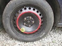 FORD FOCUS MONDEO SPACE SAVER WHEEL AND TYRE