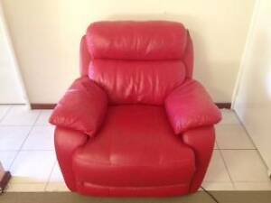 Leather Lounge Suite - Electric Recliners Swanbourne Nedlands Area Preview