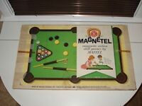 Circa 1960 Magnetel Table Top Game by Mattel