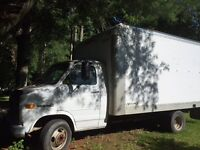 Like to trade14ft Cube Truck