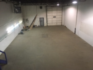 Warehouse Bay with Office and Yard- 3000 square feet