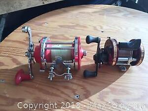 Pair Of Fishing Reels