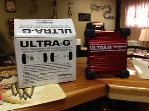Direct box and Floor guitar tuner
