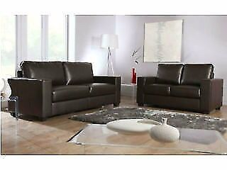 LEATHER SOFA SET 3 2 SEATER SUITE AS IN PIC BLACK OR BROWN BRAND NEWin Leeds City Centre, West YorkshireGumtree - LEATHER SOFA SET 3 2 AS IN PIC BLACK OR BROWN BRAND NEW CALL OR TEXT NOW 07563 972 095///07563 972 095 when calling please calling about uno sofa ALL SOFA SETS BRAND NEW FACTORY PACKED ALL UP TO BS FIRE SAFETY STANDARDS 3 2 BROWN £199 3ST 180CM 2ST...