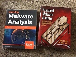 Learning Malware Analysis & Practical Malware Analysis books- vgc- £30 | in  West Parley, Dorset | Gumtree
