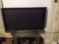 """Television 49"""" - not working - for parts"""