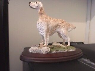 English setter   best of breed signed LW Hand painted  for sale  Milton Keynes, Buckinghamshire