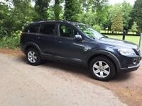 2008 CHEVROLET CAPTIVA 2.0 TURBO DIESEL 7 SEATER 4X4 MOT UNTIL MAY 2018 VERY VERY CLEAN