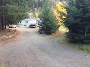 Lovely 5 acre mountain view property, 3 bed, 2 bath - Pemberton