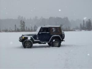 2001 Jeep TJ Sport Convertible
