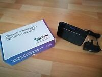 Talktalk wireless router with box