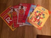 Selection of 5 text books (3-5 years)