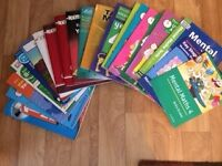 Selection of 23 maths text books suitable for 8-9 year olds - ideal for school or home.