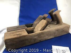 2 Piece Antique Wood Planes