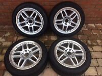 BMW Style 71 Alloys and Michelin Tyres