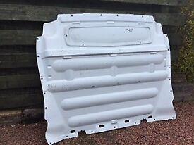 Vauxhall Vivaro 63 plate bulkhead