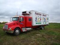 Driver/Salesperson BC Fruit Truck