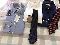 4 top quality unwanted brand new TM Lewin shirts