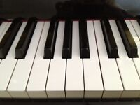 Classical, blues, jazz piano or voice lessons