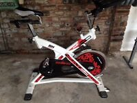 BH Fitness SB 2.6I Indoor Studio Cycle Exercise Bike - Lightly used and in excellent condition