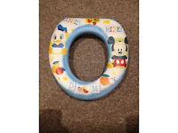 Mickey & Donald Soft Cushioned Toilet Seat (brand New)
