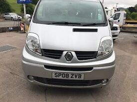 Renault Traffic 9 Seat Minibus 2.0LDCI Sport , Silver ! owner From New