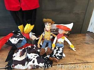 Vintage Toy Story Collectibles and Costumes