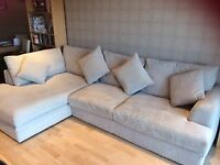 L-Shaped, 4 seat Sofa - Excellent Condition